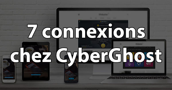 Connexions CyberGhost