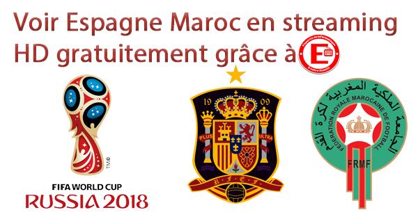Voir Espagne Maroc en streaming HD gratuitement