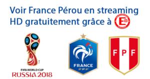 Voir France Pérou en streaming HD gratuitement