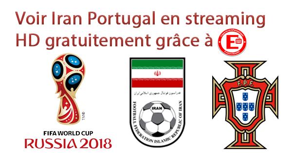 Voir Iran Portugal en streaming HD gratuitement