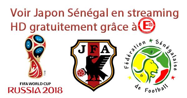 Voir Japon Sénégal en streaming HD gratuitement
