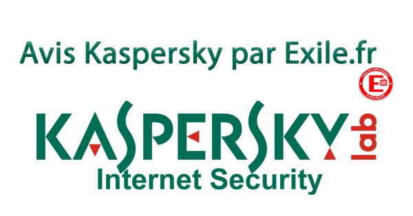 Avis Kaspersky