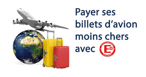 Billets Avion moins chers