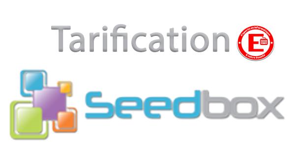 Tarification Seedbox.fr
