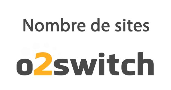 nombres de sites o2switch