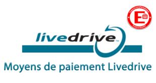 Moyens de paiement Livedrive